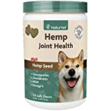 NaturVet Healthy Joint Health Supplement for Dogs,...