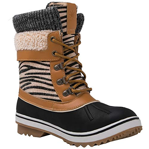 1829camel Winter Snow Women's Win Global GLOBALWIN Waterproof Boots qTX0HIw