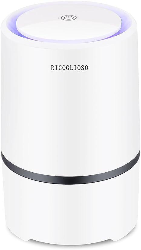 RIGOGLIOSO - Ionizador de Escritorio, purificador portátil de Aire ...