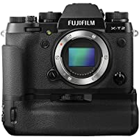 Fujifilm X-T2 Mirrorless Camera (Body Only) w/Battery Vertical Power Grip