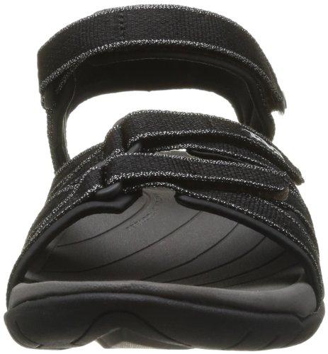 TevaW Tirra Metallic - Sandalias Atléticas Mujer Negro - negro