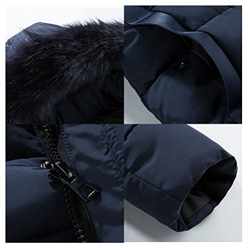 Zhuhaitf Stand Mens Collar Long up Winter Black Thicken Coats Outerwear With Plus r4rB8qfw