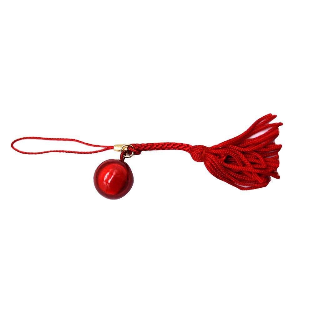 Provide The Best Llavero de dibujos animados peque/ña Shinning de Bell Llavero afortunado de metal clave de tel/éfono del sostenedor del bolso de llamada decoraci/ón de accesorios