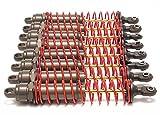 Traxxas 4962 Hard-Anodized & PTFE-Coated T6 Aluminum Big Bore shocks (Set of 8)