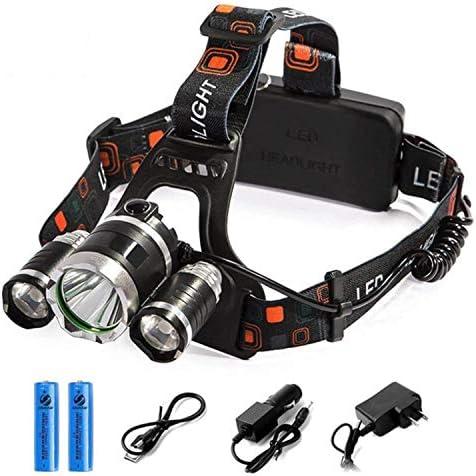 Rechargeable Headlight Waterproof Flashlight Batteries product image