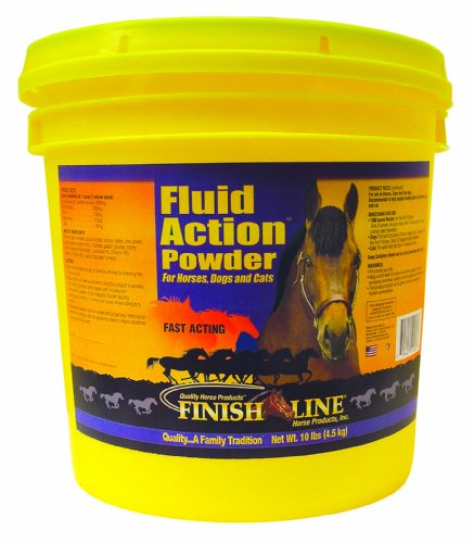Finish Line Horse Products Fluid Action Powder (10-Pounds) by Finish Line Horse Products