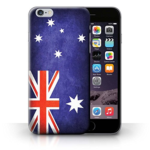 Hülle Case für iPhone 6+/Plus 5.5 / Australien/australisch Entwurf / Flagge Collection