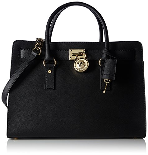 michael-kors-hamilton-large-ew-satchel-black-leather