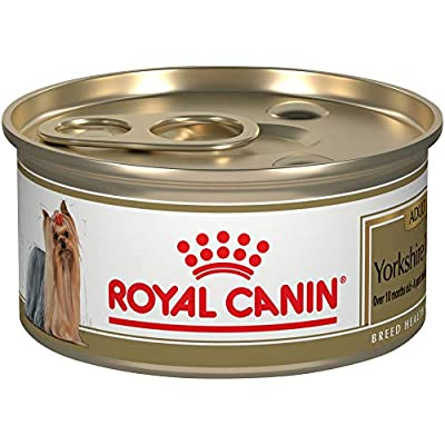Royal Canin Breed Health Nutrition Yorkshire Terrier Adult Loaf in Sauce Canned Dog Food, 3 oz (Pack of 24)