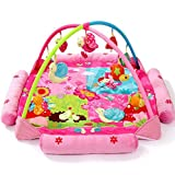 Guurachi Pastoral Cartoon Music Game Blanket Baby Crawling Pad Game Pad Fitness Frame