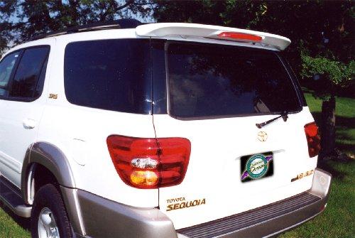 - Toyota Sequoia Rear Spoiler 2001 2002 2003 2004 2005 2006 2007 - Painted - 8J7 Blue Steel Metallic