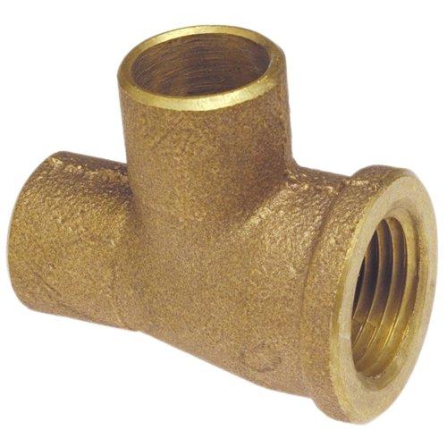 NIBCO 714 Series BRZ Cast Bronze Tee, 3/4