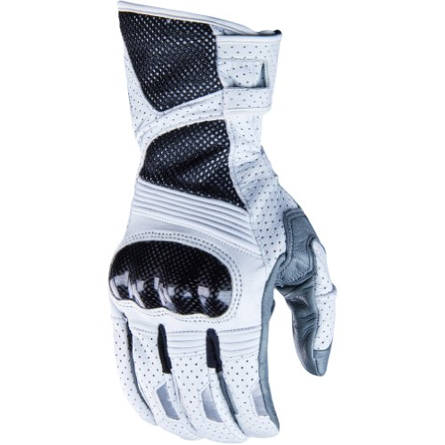 Klim Induction Men's MotoX Motorcycle Gloves - White / X-Large