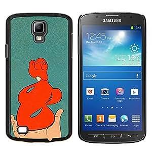 LECELL--Funda protectora / Cubierta / Piel For Samsung Galaxy S4 Active i9295 -- Figura Cuerpo Pintura del vintage --
