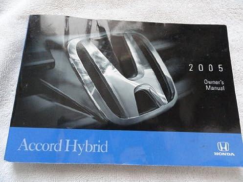 2005 honda accord hybrid owners manual honda amazon com books rh amazon com 2004 honda accord owners manual 2004 honda accord owners manual pdf free