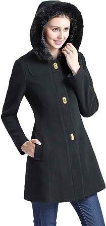 Wool Parka Coat