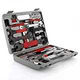 Deckey Bike Repair Tool Kits,48 Pcs Bicycle Tool Kit Multifunction Tool Kit with Torque Wrench Maintenance Tool Set with Tool Box Best Value Professional Home Bike Tool with Premium Quality