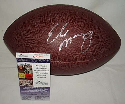 Eli Manning New York Giants Signed / Autographed NFL Replica Football - JSA Certified