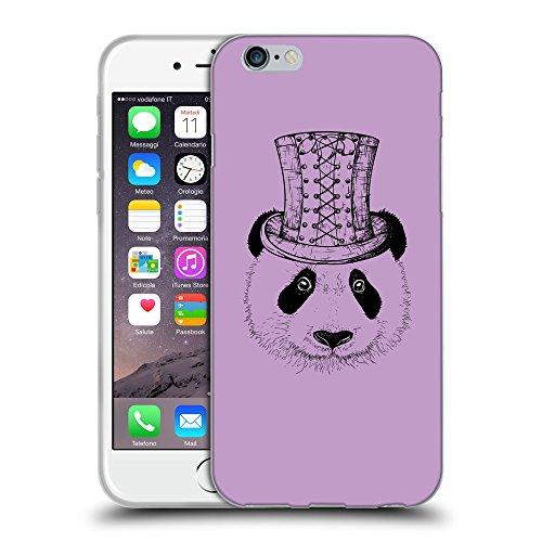 "GoGoMobile Coque de Protection TPU Silicone Case pour // Q08350617 Chapeau panada Bright Ube // Apple iPhone 6 4.7"""