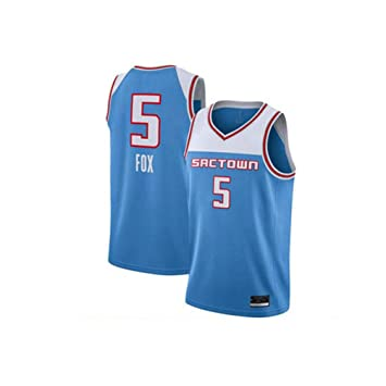 Unisex Camiseta sin Mangas, NBA DeAaron Fox # 5, Sacramento Kings ...