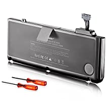 Egoway Replacement Battery for Apple 13 inch MacBook Pro A1278 A1322 [10.95V, 6000mAh]