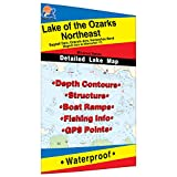 Lake of the Ozarks-Northeast (Milemarker 17 to Bagnell Dam) Fishing Map