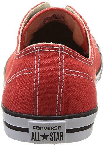 Converse As Dainty Ox - Zapatillas de Deporte de canvas Unisex Rojo - rojo