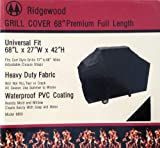 Ridgewood Grill Cover 68 Inch Heavy Duty 600D Polyester Fabric Waterproof PVC Coating NOT Vinyl 68 Review