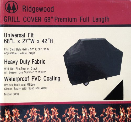 Grill Cover 68 Inch Ridgewood Heavy Duty 600D Polyester F...