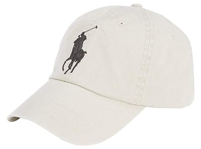 a17ca59fe3d9 Image Unavailable. Image not available for. Color  Polo Ralph Lauren Big  Pony Athletic Twill Chino Baseball Cap ...