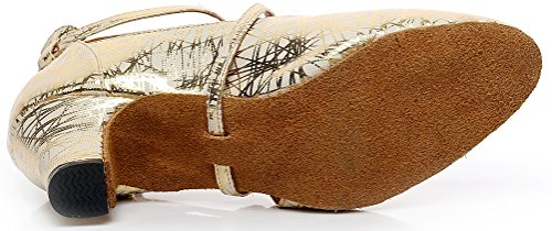 CFP - Zapatillas de danza mujer dorado