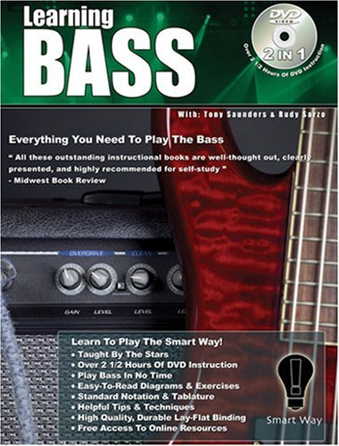 By Rudy Sarzo Bass Guitar Lessons  Learn How To Play Bass Guitar The Smart Way   Icons Of Rock  Smart Way    1St First Edition   Paperback