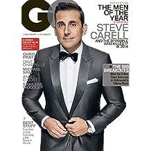 GQ Magazine - December 2014 Men Of The Year Steve Carell Cover