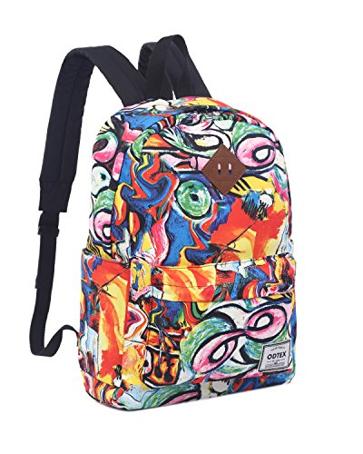 (ODTEX Backpack Fits for 15 inch Laptop and Tablet Graffiti)