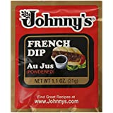 Johnny's French Dip Au Jus Powder Packet, 1.10 Ounce (Pack of 24)