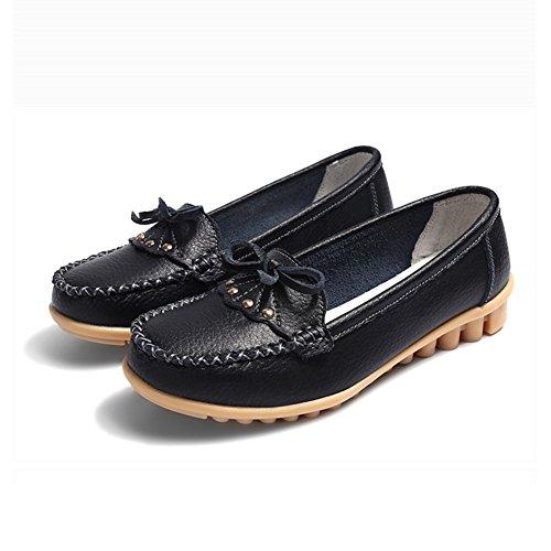 Las del Verano Zapatos Zapatos Zapatos la 2018 del Arco Zapatos los Grandes de Zapatos Madre del Guisante de o Cuero Primavera Mujeres de oto o Ocasionales de del Guisantes tama vvqIrw6E
