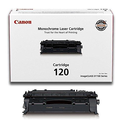 Canon (CRG-120) imageCLASS D1320 Black OEM Toner Standard Yield (5,000 Yield) (Black 120 Toner Cartridge)