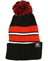 Men's Winter 2ply Stretch Tight Knit Pom Pom Beanie Skull Ski Hat Cap