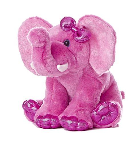 Aurora World Girlz Nation Pink Elephant Plush, 9