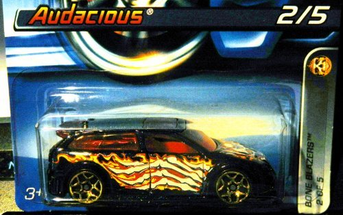Hot Wheels 2006 #82 082 Bone Blazers Series #2 Audacious FTE Wheels Collectable Collector Car Mattel 1:64 Scale