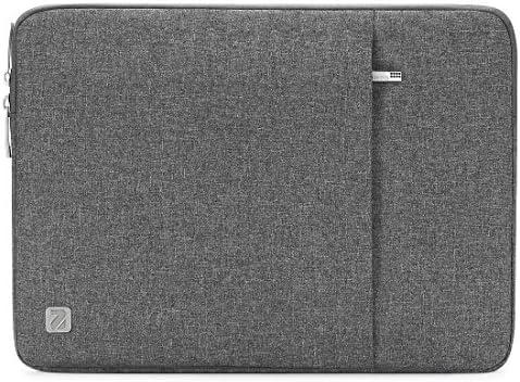 "NIDOO 14 Zoll Wasserdicht Laptop Sleeve Case Notebook Hülle Schutzhülle Tasche Laptoptasche für 14"" HP Stream 14 Pavilion 14/Lenovo Yoga 710/14"" ThinkPad A475 Laptop (Grau)"