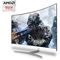 Hansung ULTRON 3254C Curved Gaming Monitor Real 75, AMD Free Sync, 75Hz FHD/4ms(GTG), Gaming Mode, HDMI, Anti-Glare 3H Coating, Flicker Free