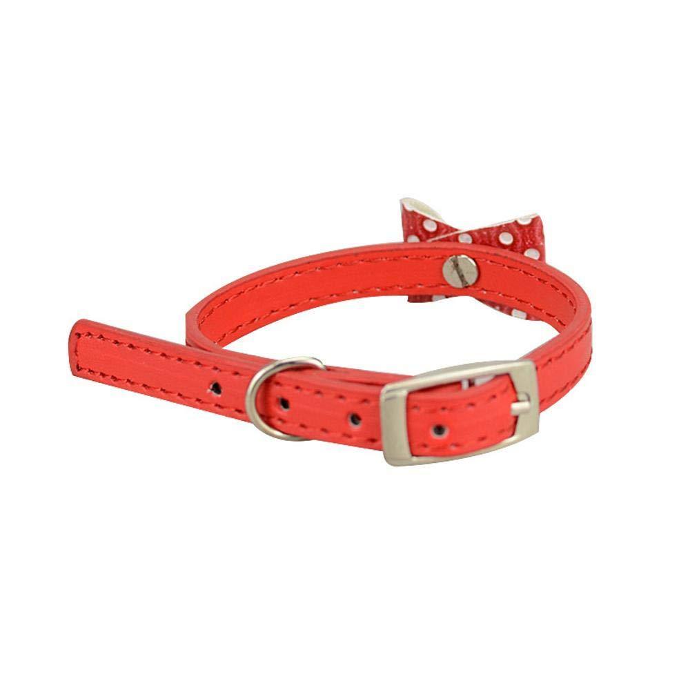 disponibile Daeou Collari per caniNodo della farfalla PU PU PU ornamento gatto cane campana, 30  1cm  ottima selezione e consegna rapida