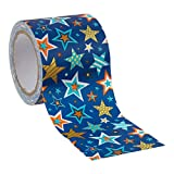 Time 4 Crafts, Crafters Duct Tape, 1.9 Inches, Stars, 6 Pieces