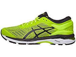 Asics Men's Gel-kayano 24 Running-shoes, Sulphurblackwhite, 11 D(m) Us