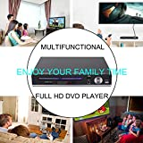 DVD Player-Digital DVD Player for TV Support 1080P