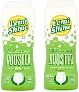 Lemi Shine Detergent Booster, 24 Ounce, 2-Pack