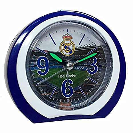 Negro Seva Import Real Madrid Despertador Talla /Única