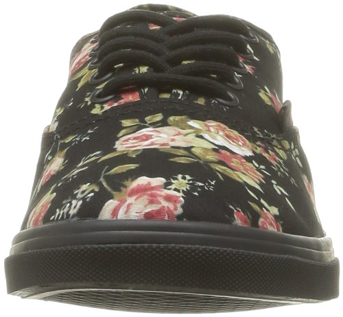 Noir Black Baskets U Authentic floral Lo Adulte Mixte Mode Vans Pro 8qfRR