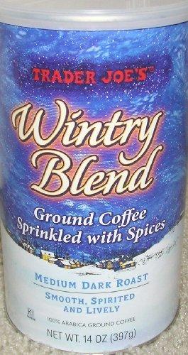 Trader Joe's Wintry Blend Ground Coffee, 14 ounces (Pack of 2) (Trader Joe's Coffee Christmas)